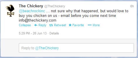 Chickery Reply